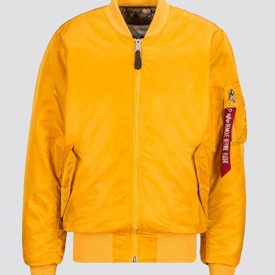 Alpha Industries – MA-1 Coalition Bomber – Gold