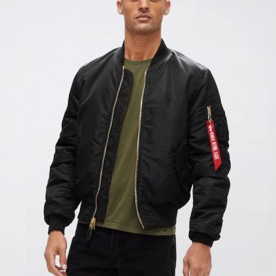 Alpha Industries – MA-1 Flight Bomber – Black