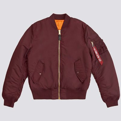 Alpha Industries – MA-1 Flight Bomber – Maroon
