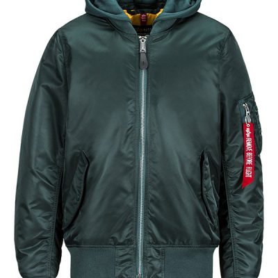Alpha Industries – MA-1 Natus Hooded Bomber – Green