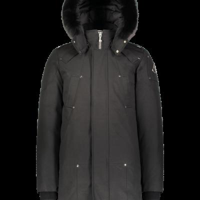 Moose Knuckles – Stirling Parka – Black w/ Black Fox Fur