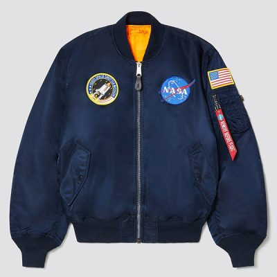 Alpha Industries – NASA MA-1 Bomber – Blue