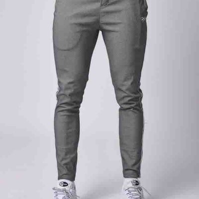 Project X Paris – Side Stripe Chino – Grey