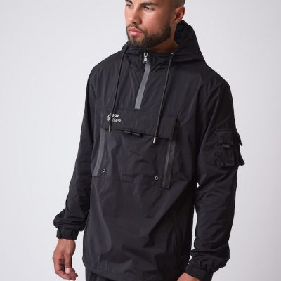 Project X Paris – Small Logo Anorak – Black