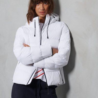 Superdry – Spirit Sports Puffer – White