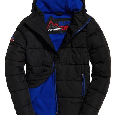 Superdry – Sports Puffer – Black