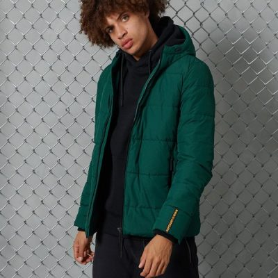 Superdry – Sports Puffer – Pine