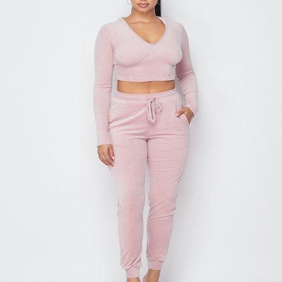 HD – Velour Set – Pink