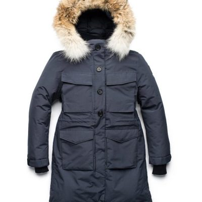 Nobis – Ava Heavy-Weight Parka – Navy
