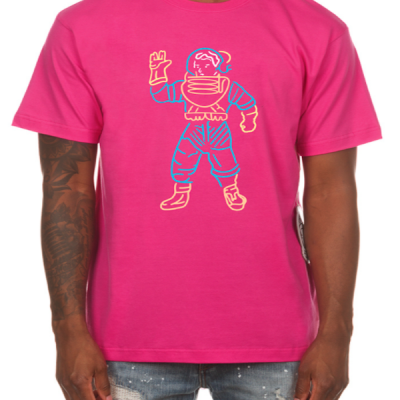 Billionaire Boys Club – Astro Lights ss Tee – Pink