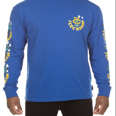Ice Cream – Bling Bling LS Tee – Blue