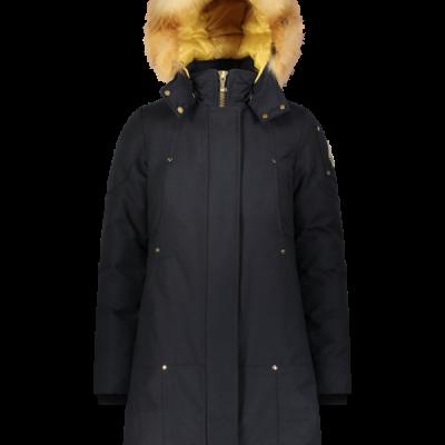 Moose Knuckles – Grand Metis Parka – Navy w/ Gold Fur