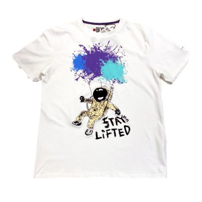 BKYS – Stay Lifted Tee – White