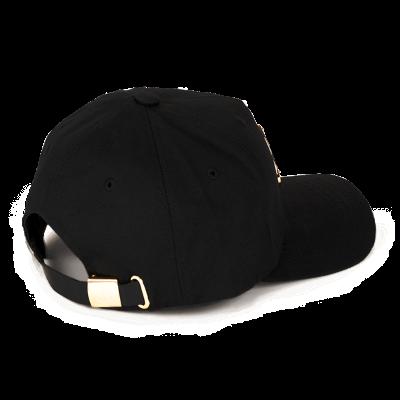 Moose Knuckles – Gold Logo Icon Hat – Black/Gold