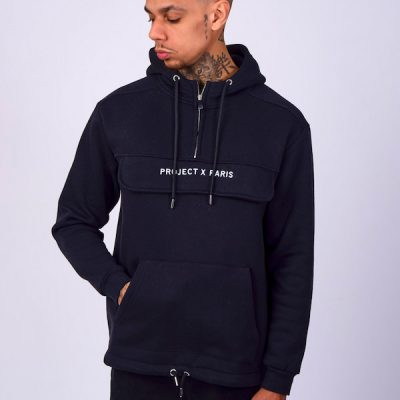 Project X Paris – Basic Over sized Hoodie – Black