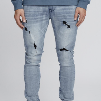 Kuwalla TEE – Black Hole Denim – Blue