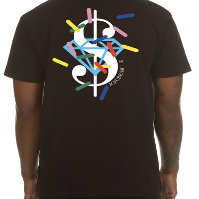 Ice Cream – Dollars and Cents ss tee – Black