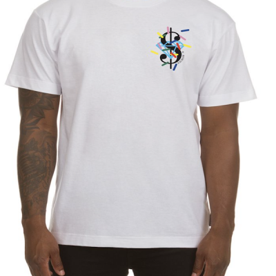 Ice Cream – Dollars and Cents ss Tee – White