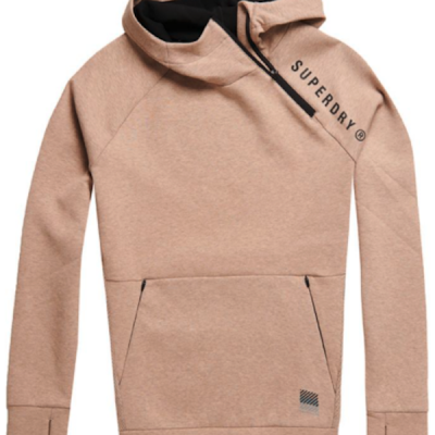 Superdry – Gym tech hoodie – Malt