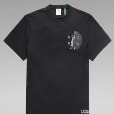 G Star RAW – Hammer Tee – Black