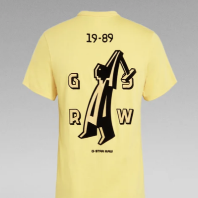 G Star RAW – Hammer Tee – Yellow