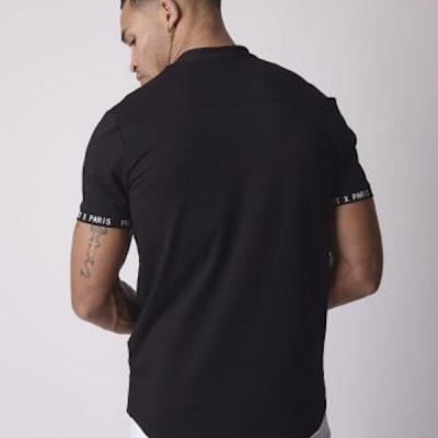 Project X Paris – Mao Neck Button Up – Black