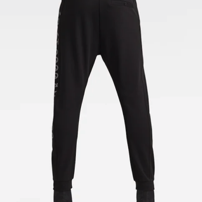 G Star RAW – Moto Mixed Sweat Pants – Black