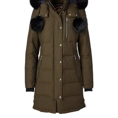 Moose Knuckles – Paddock Wood Parka – Army w/ Black Fur
