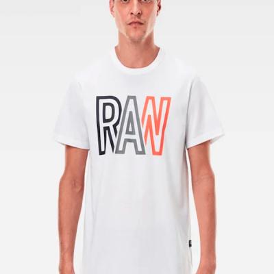 G Star RAW – Raw R T-shirt – White