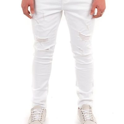 Kuwalla TEE – Slasher Denim – White