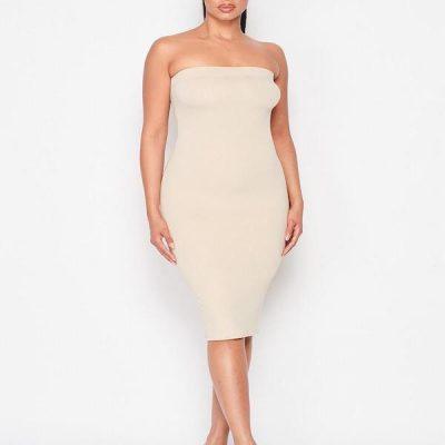 HD – Tube Dress – Cream