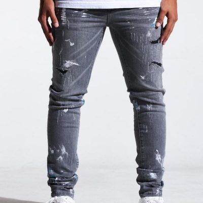Embellish NYC – Asher Standard Denim – Grey
