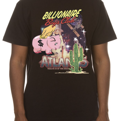 Billionaire Boys Club – Atlantis SS Tee – Black