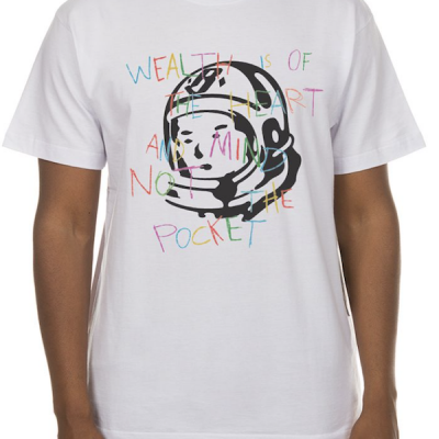 Billionaire Boys Club – Colors SS Tee – White