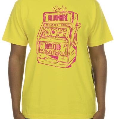 Billionaire Boys Club – Lotto SS Tee – Yellow