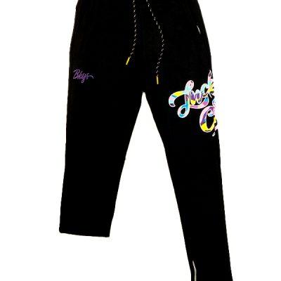 BKYS – Big Lucky Paint Sweatpants – Black