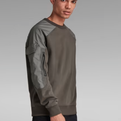 G Star RAW – Container Sweater – Grey