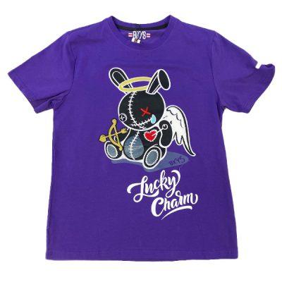 BKYS – Lucky Angel Tee – Purple
