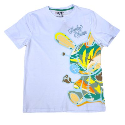 BKYS – Lucky Painting Tee – White
