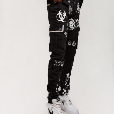 Reason – Space Jeans – Black
