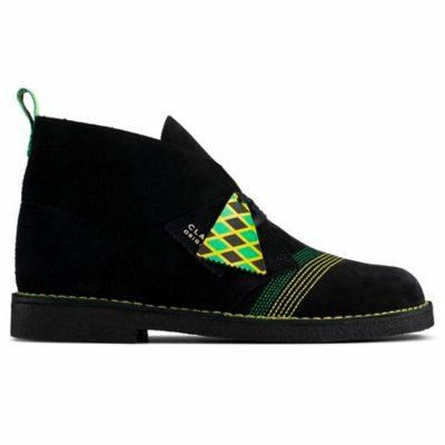Clarks – Suede Desert Boot Tier 2 – Jamaican