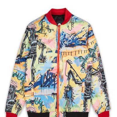 Reason – Basquiat Reversible Jacket – Multi