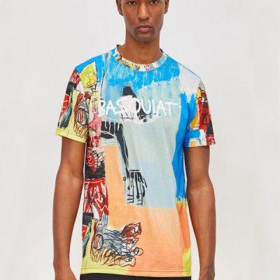 Reason – Basquiat Tee – Multi