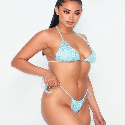 HD – Sparkle Bikini – Blue