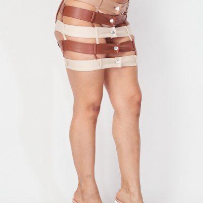 HD – Dare you Skirt – Brown