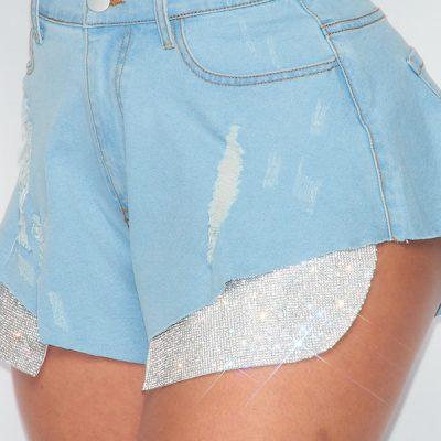 HD – Denim Shorts – Blue