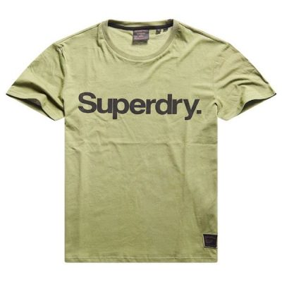 Superdry – Military Graphic Tee – Olive