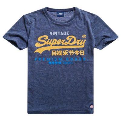 Superdry – VL Tri Tee – Blue