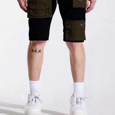 Embellish NYC – Axel Denim Shorts – Black