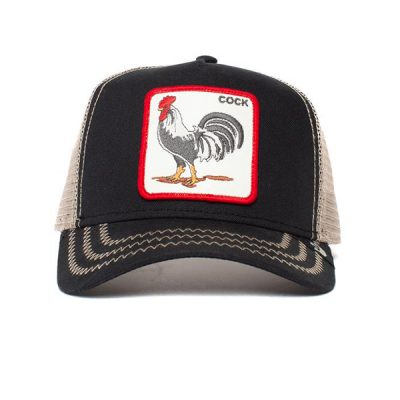 Goorin Bros. – Rooster Trucker Hat – Black